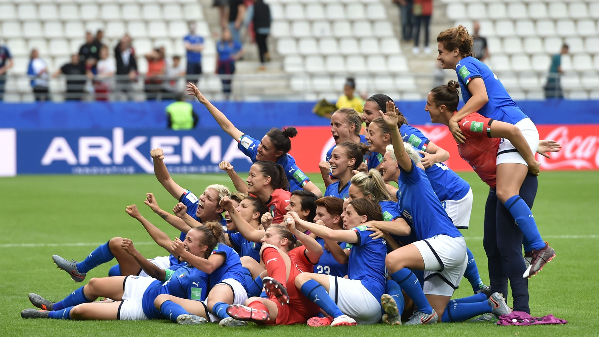 Women's World Cup: England, Italy go through as Japan bounce back