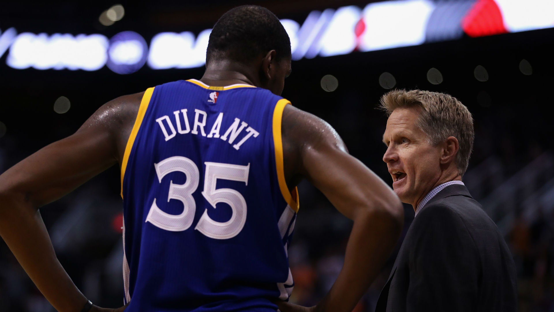 Will Kevin Durant re-sign with Warriors? Steve Kerr, Bob Myers have 'no idea'