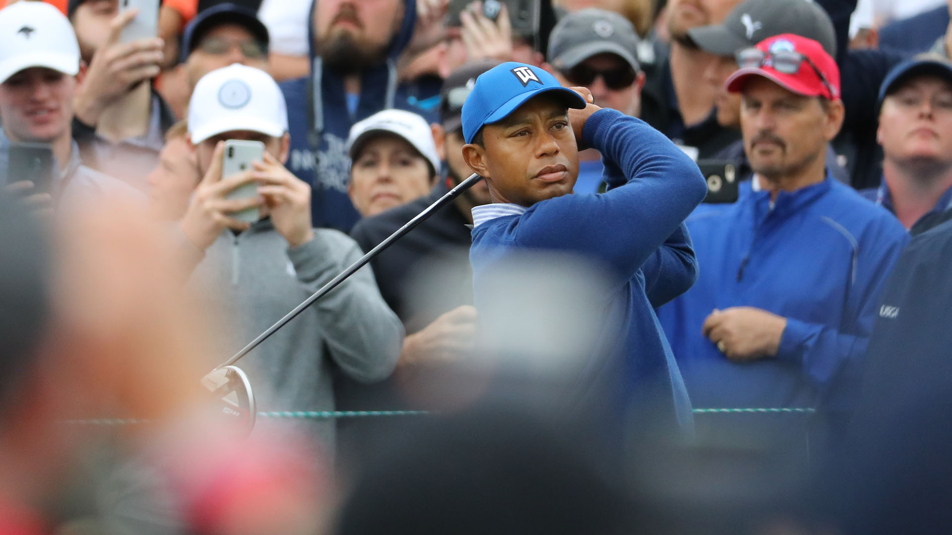 I'm a little hot right now – Tiger Woods fuming after bogey-bogey finish