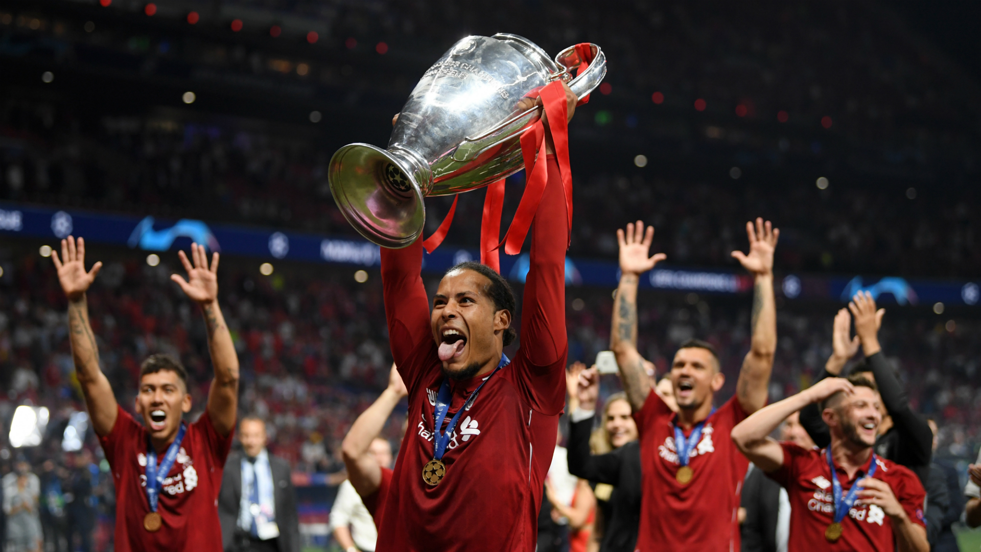 Van Dijk: Liverpool hungry for more success after Champions League glory