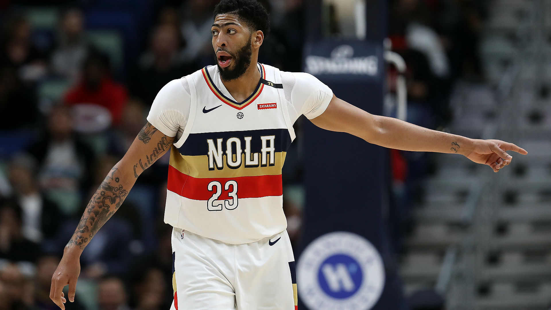 NBA reacts to Lakers acquiring Anthony Davis