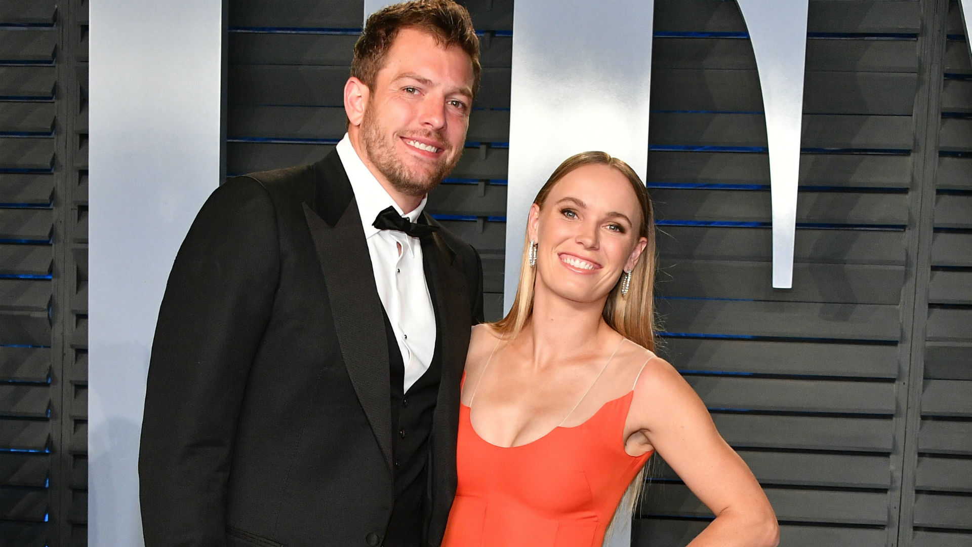 Caroline Wozniacki, David Lee marry; star athletes in wedding party