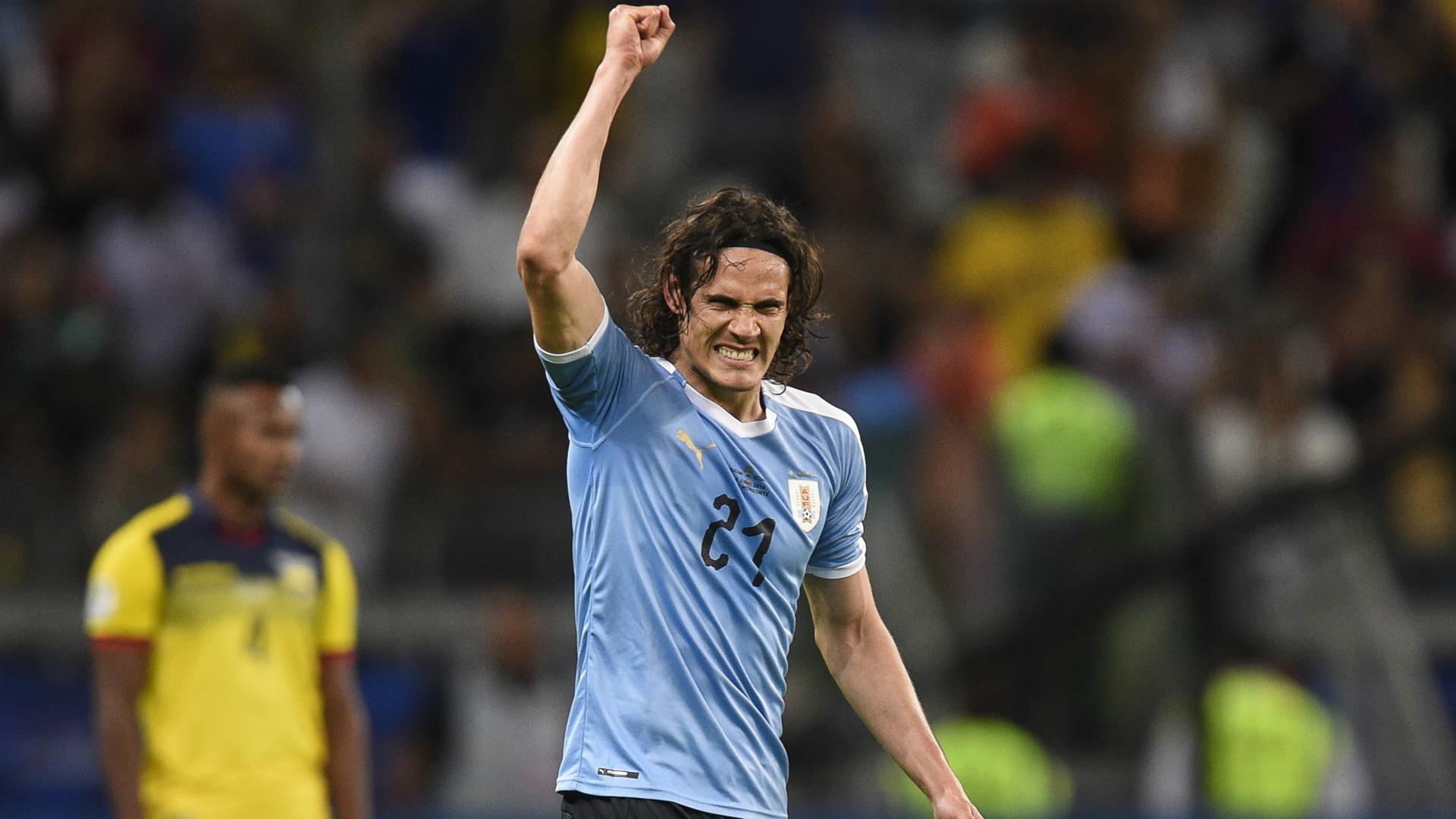 Cavani: Uruguay ready to fight for Copa America glory
