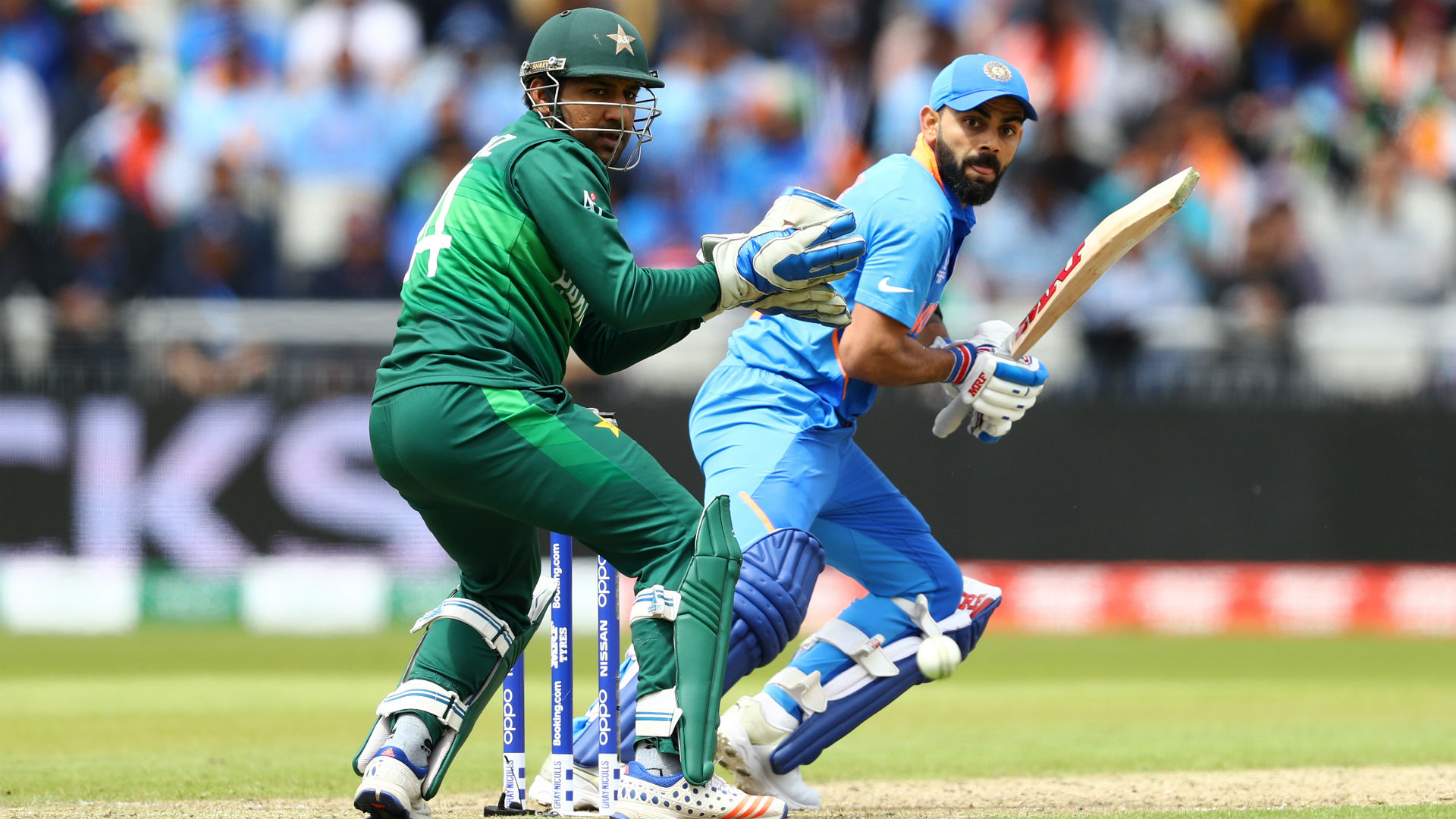 India rule with ruthless efficiency as Pakistan's rallying cry goes unheard