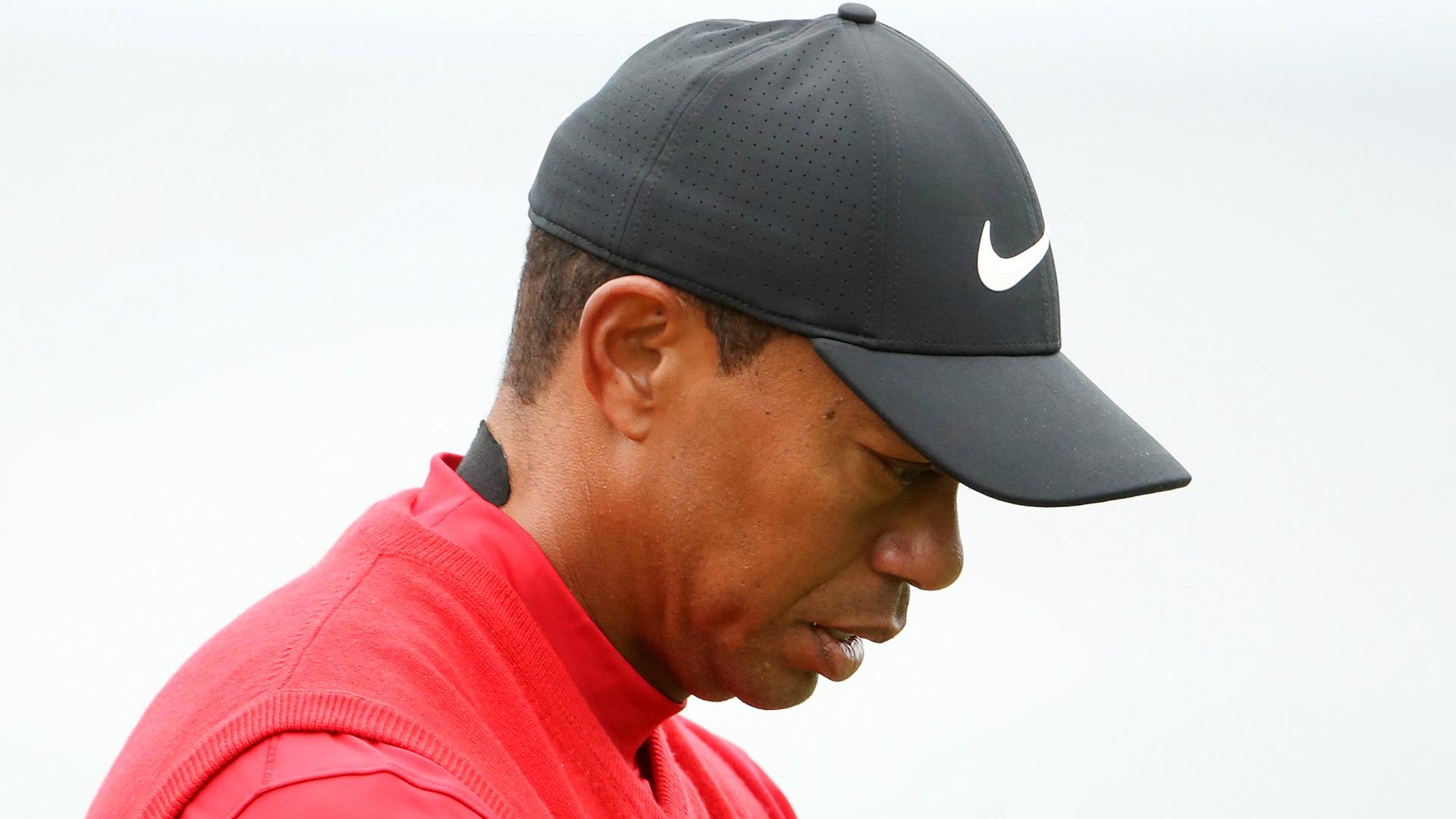 Tiger relishing break ahead of Open Championship