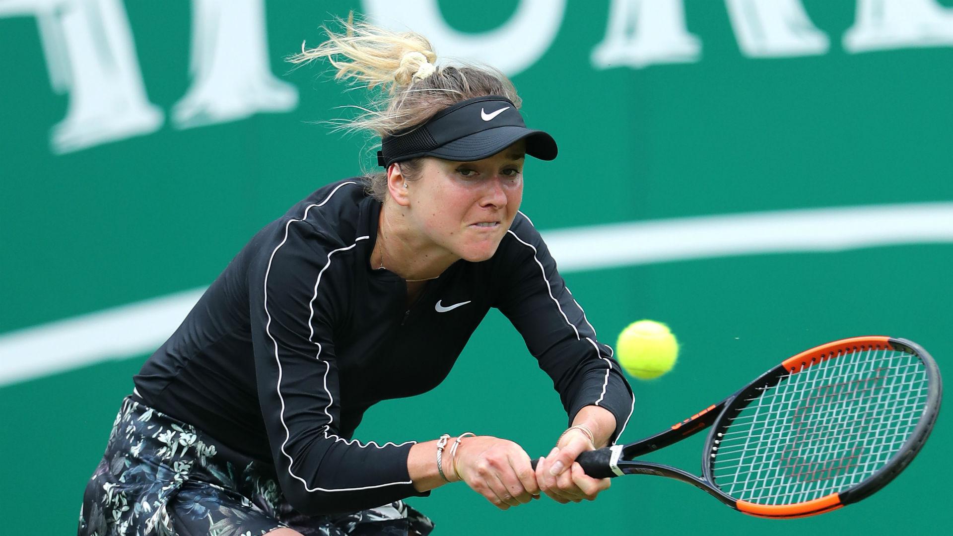 Svitolina suffers first-round Birmingham exit as Pliskova