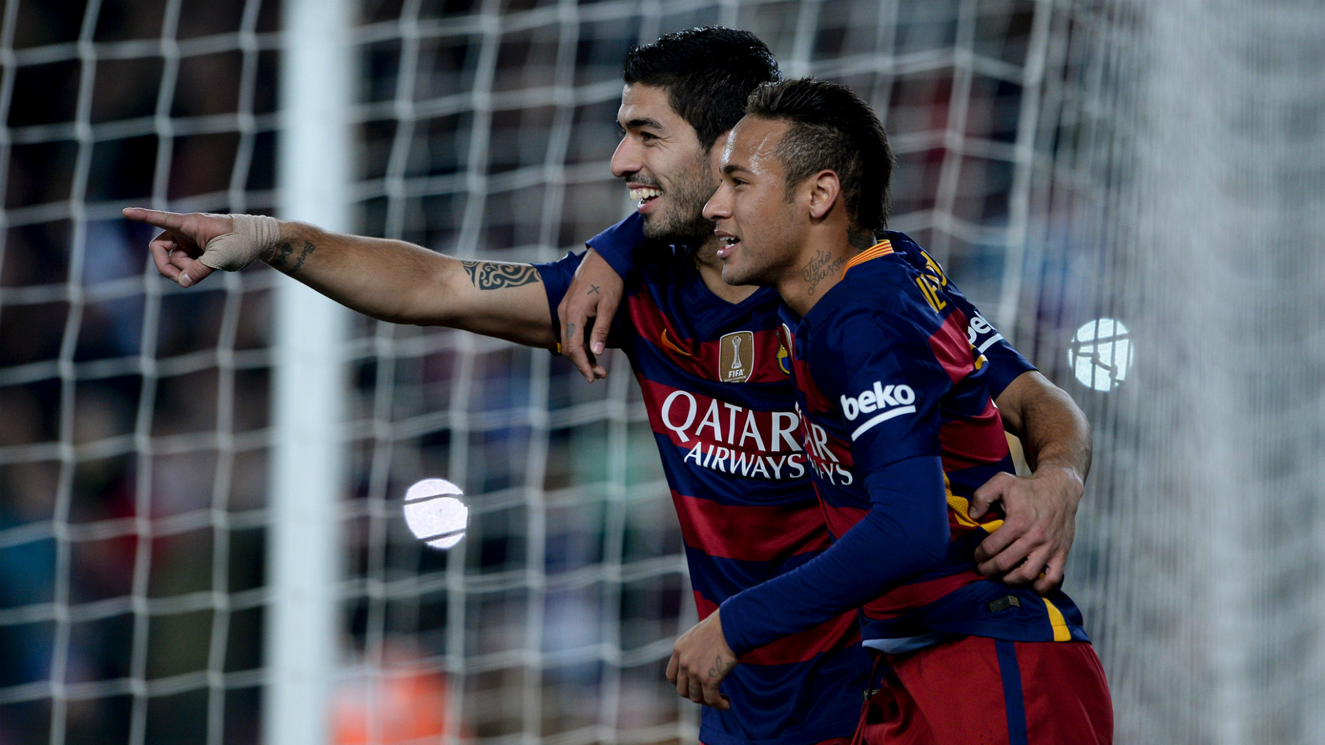 Suarez: Who wouldn't want to enjoy players like Neymar?