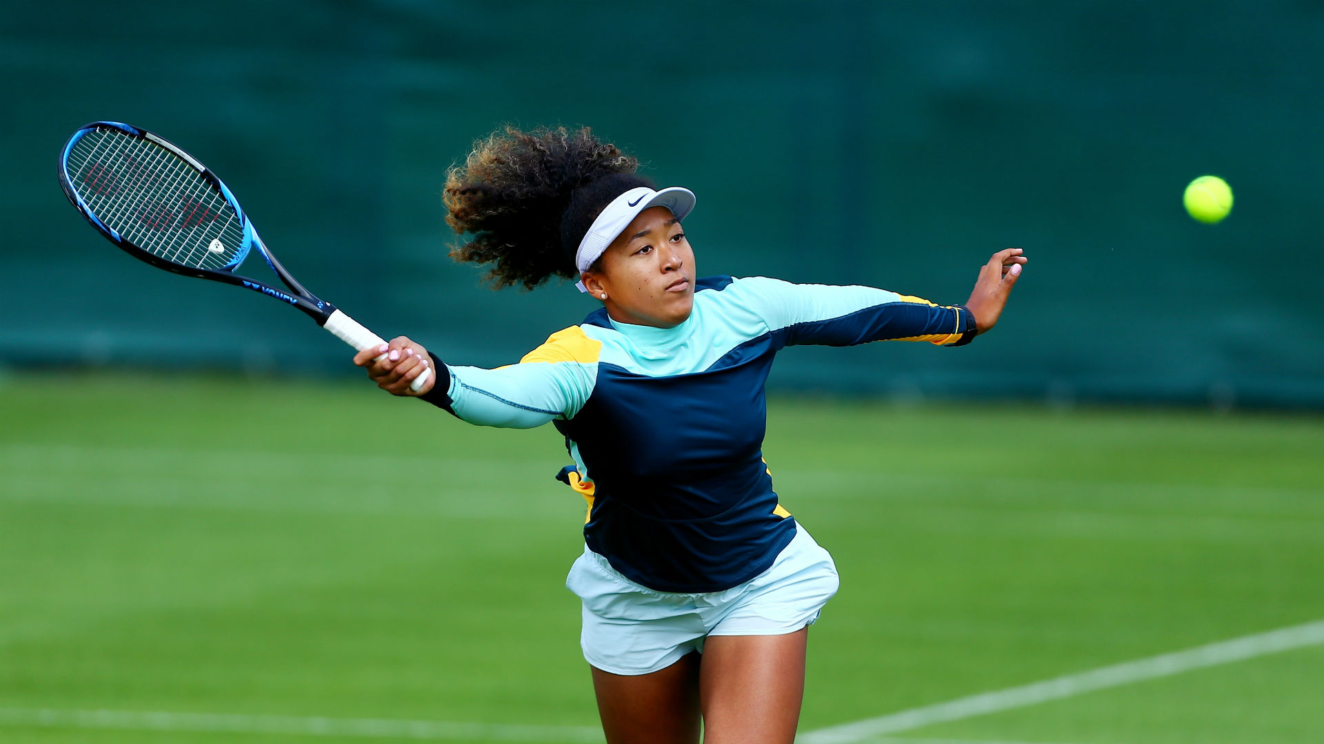 Osaka feeling free for Wimbledon challenge