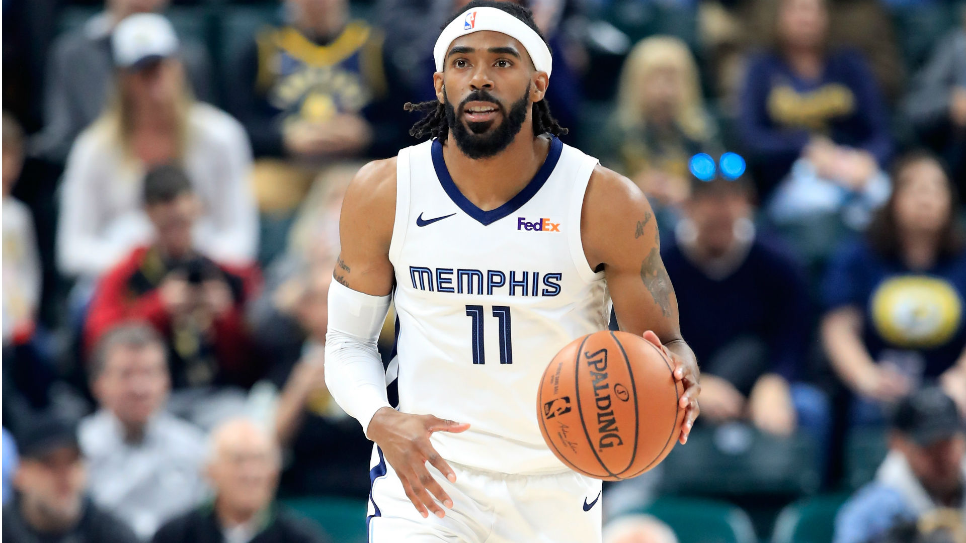 Mike Conley Jr. traded from Grizzlies to Jazz for three players, two picks, report says