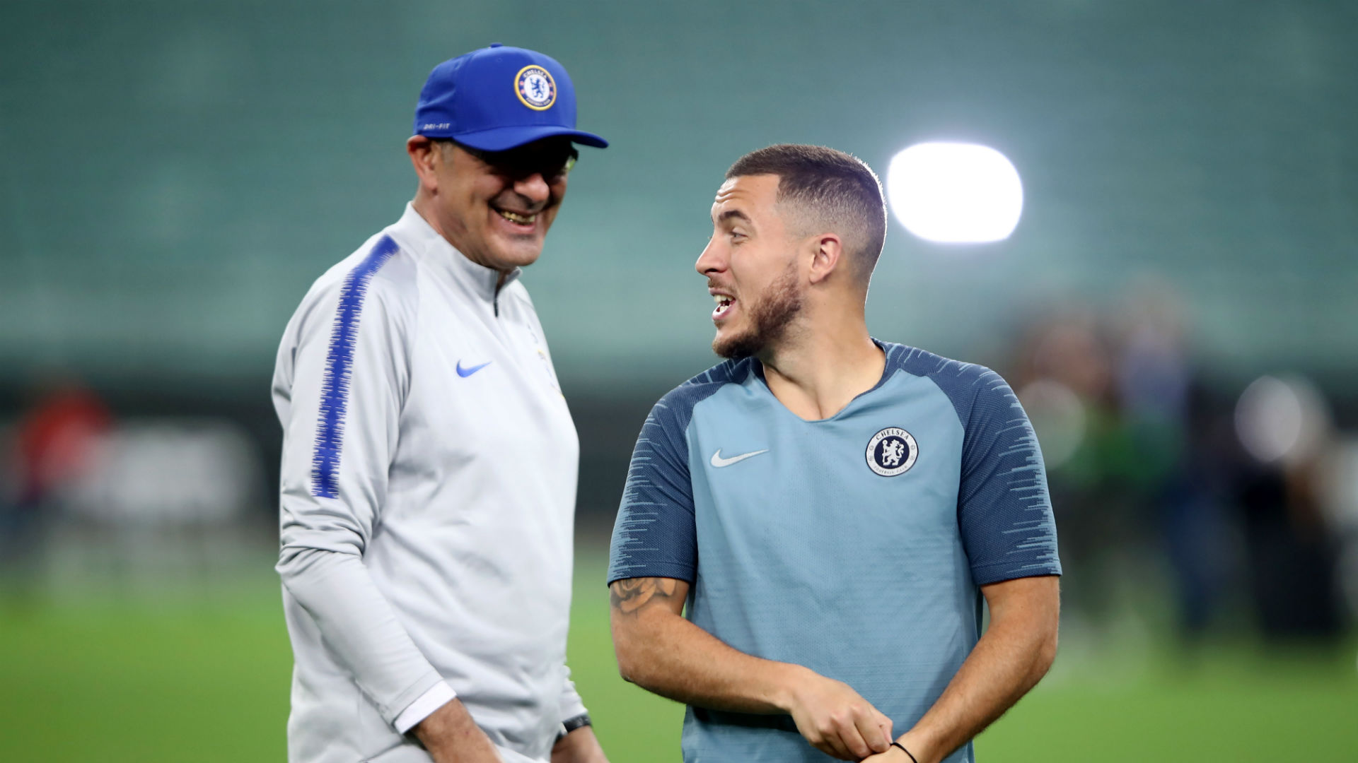 Sarri: Chelsea had to accommodate Hazard