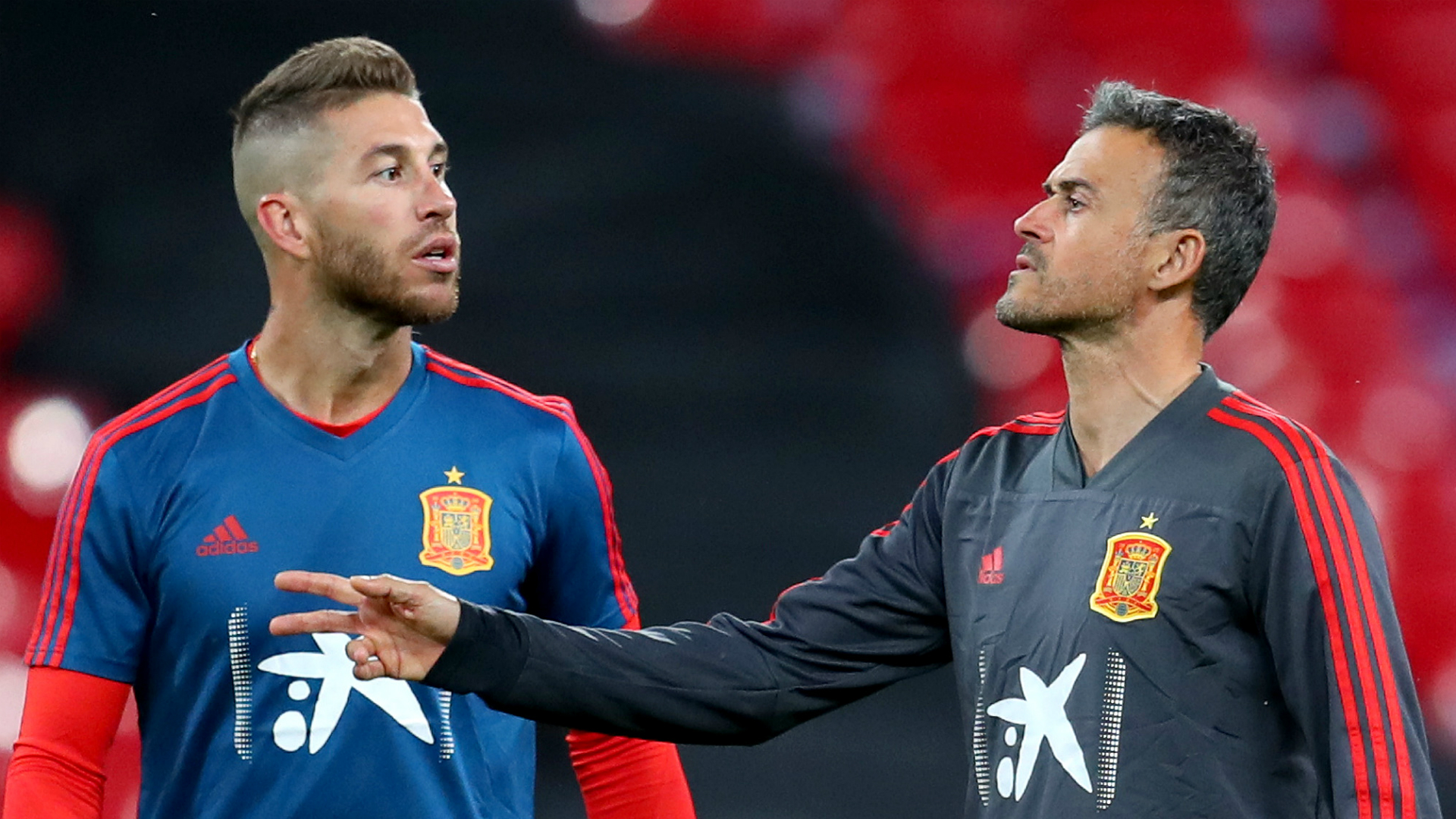 Every win will be yours – Spain captain Ramos pays tribute to Luis Enrique