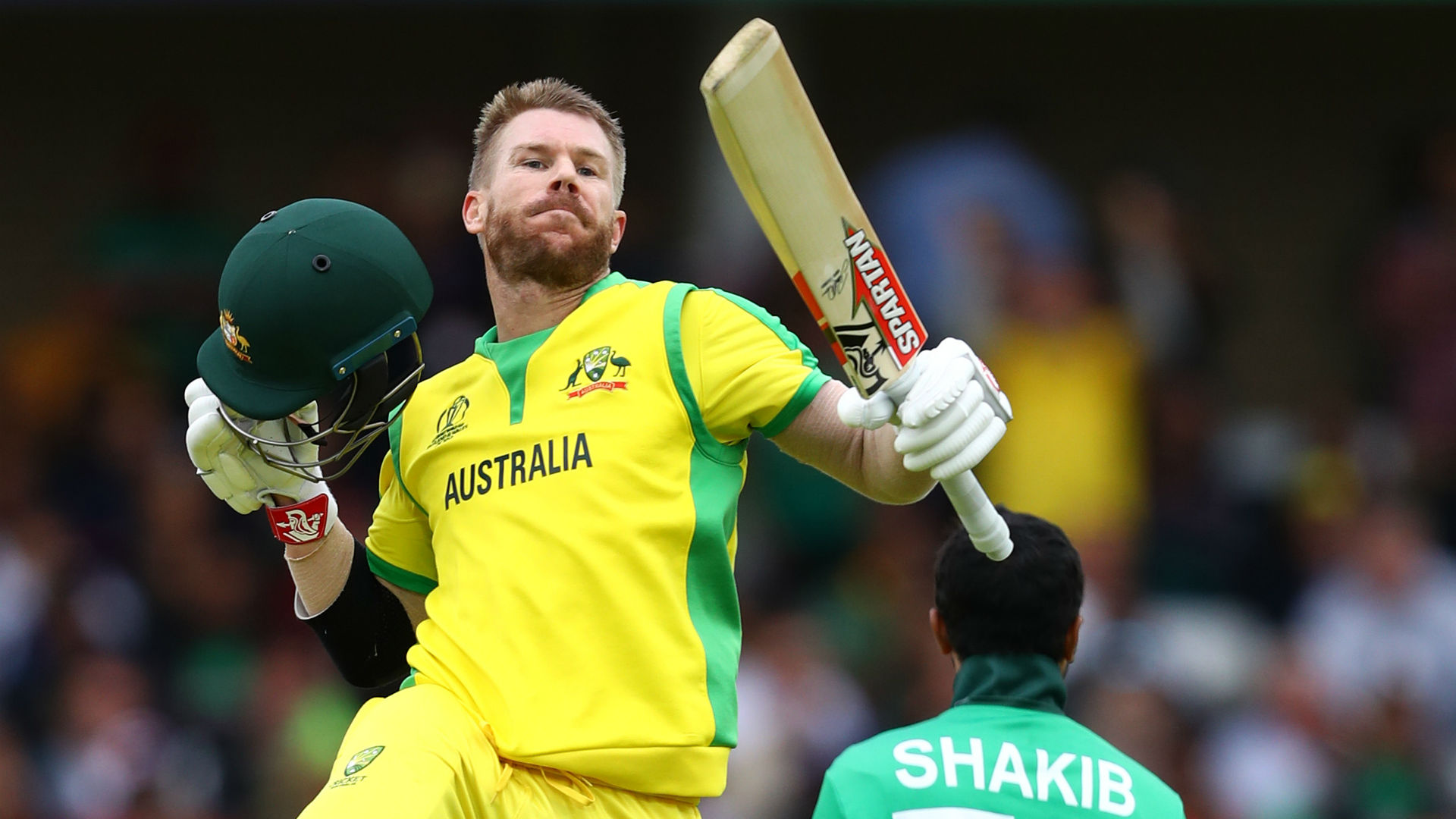 Imperious Warner smashes highest score of World Cup