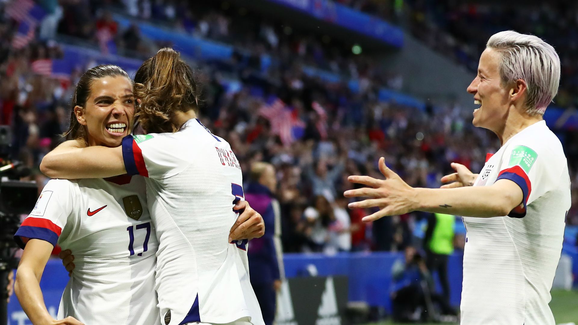 Formidable USA, underdogs China and perfect hosts – the Women's World Cup last-16 stats
