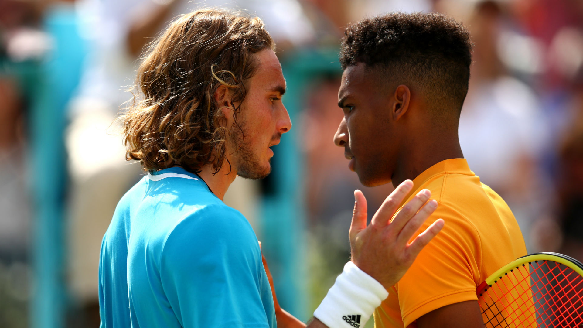 Tsitsipas hails Auger-Aliassime as 'most difficult opponent' after Queen's loss