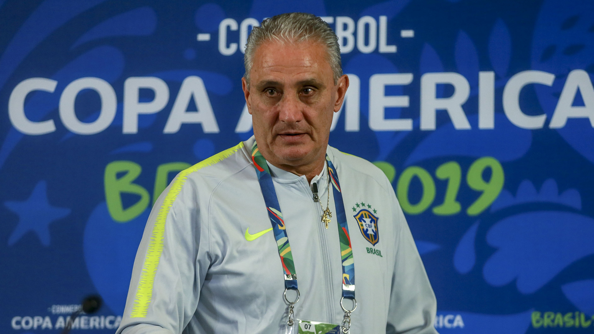 Tite denies Brazil used drone to spy on Peru