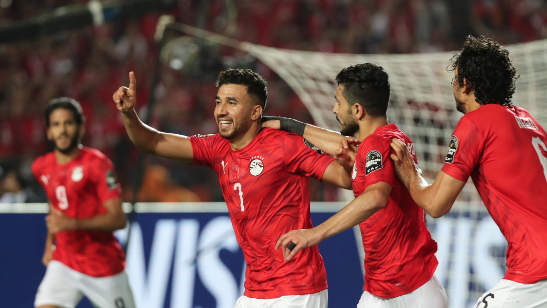 Egypt 1 Zimbabwe 0: Trezeguet gets AFCON hosts up and running