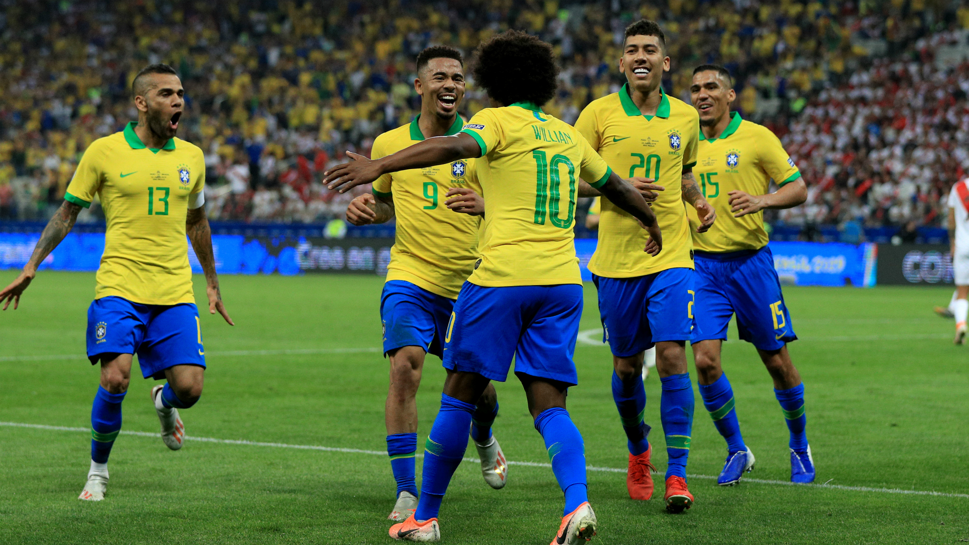 Tite: Peru rout one of Brazil's best matches