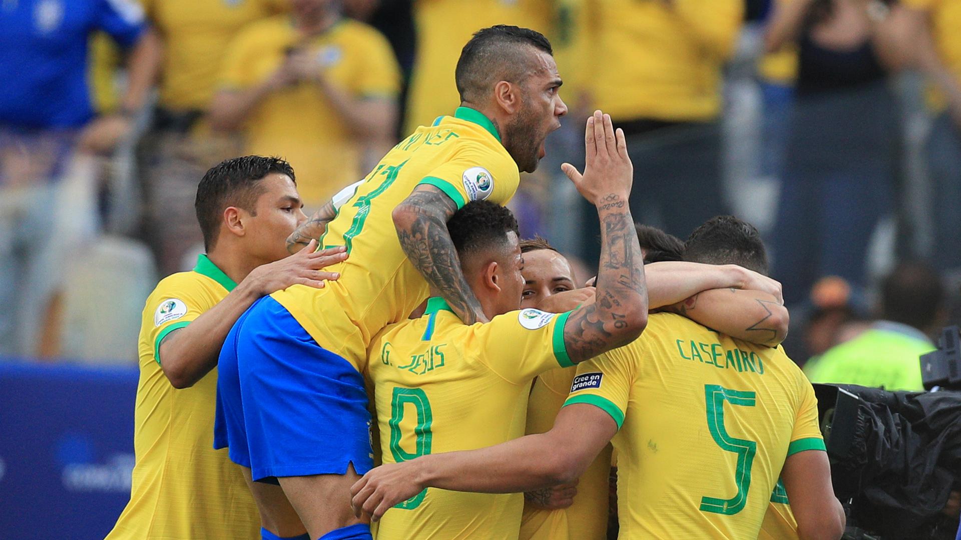 Peru 0 Brazil 5: Copa America hosts cruise into quarter-finals