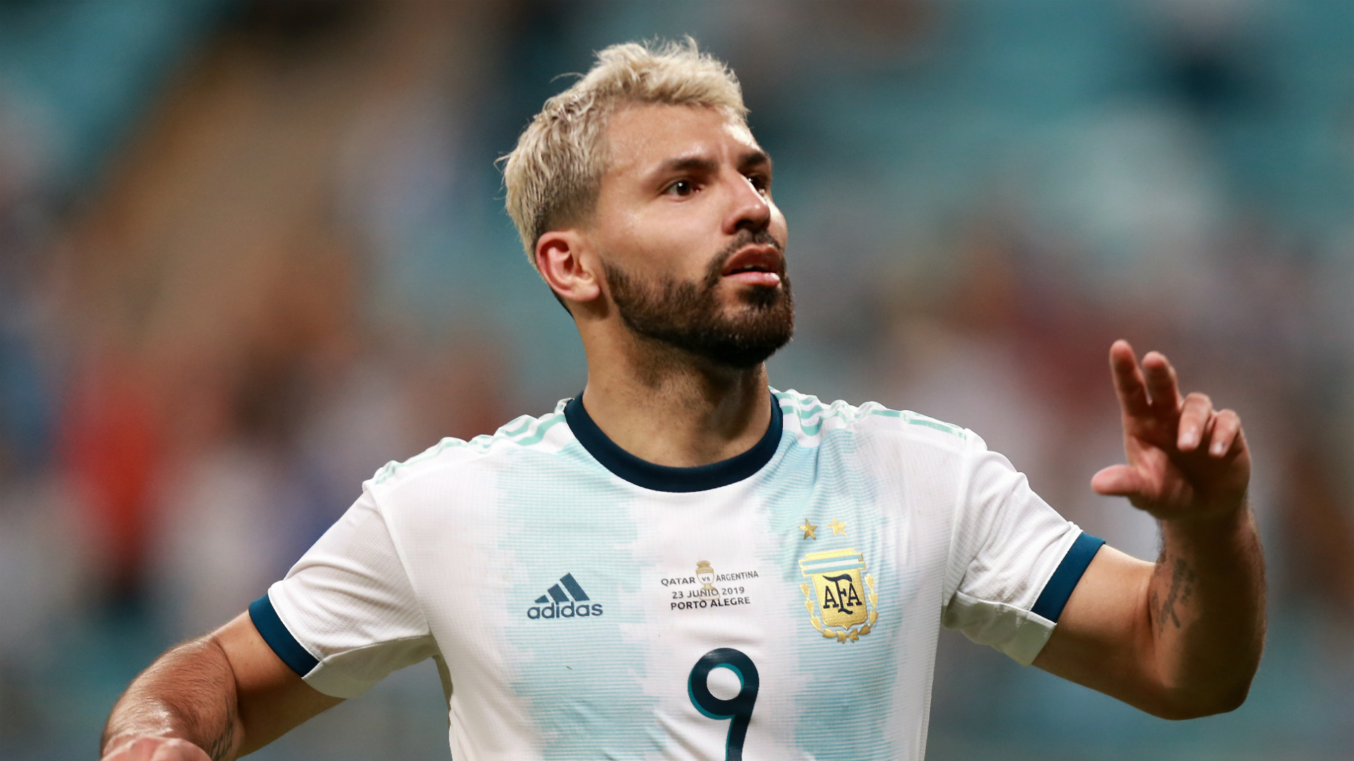 Qatar 0 Argentina 2: Aguero on target as Scaloni's men progress