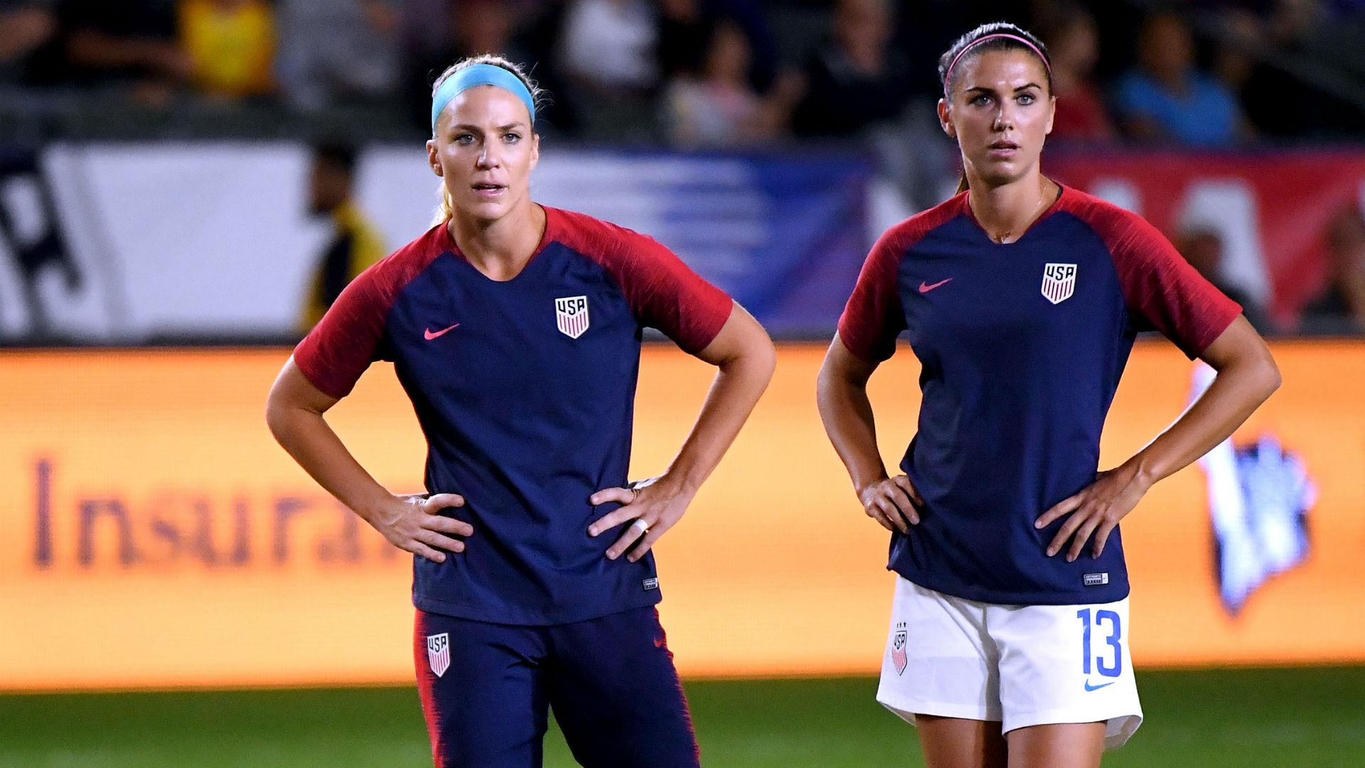 Women's World Cup 2019: Alex Morgan, Julie Ertz 'fine' to play vs. Spain