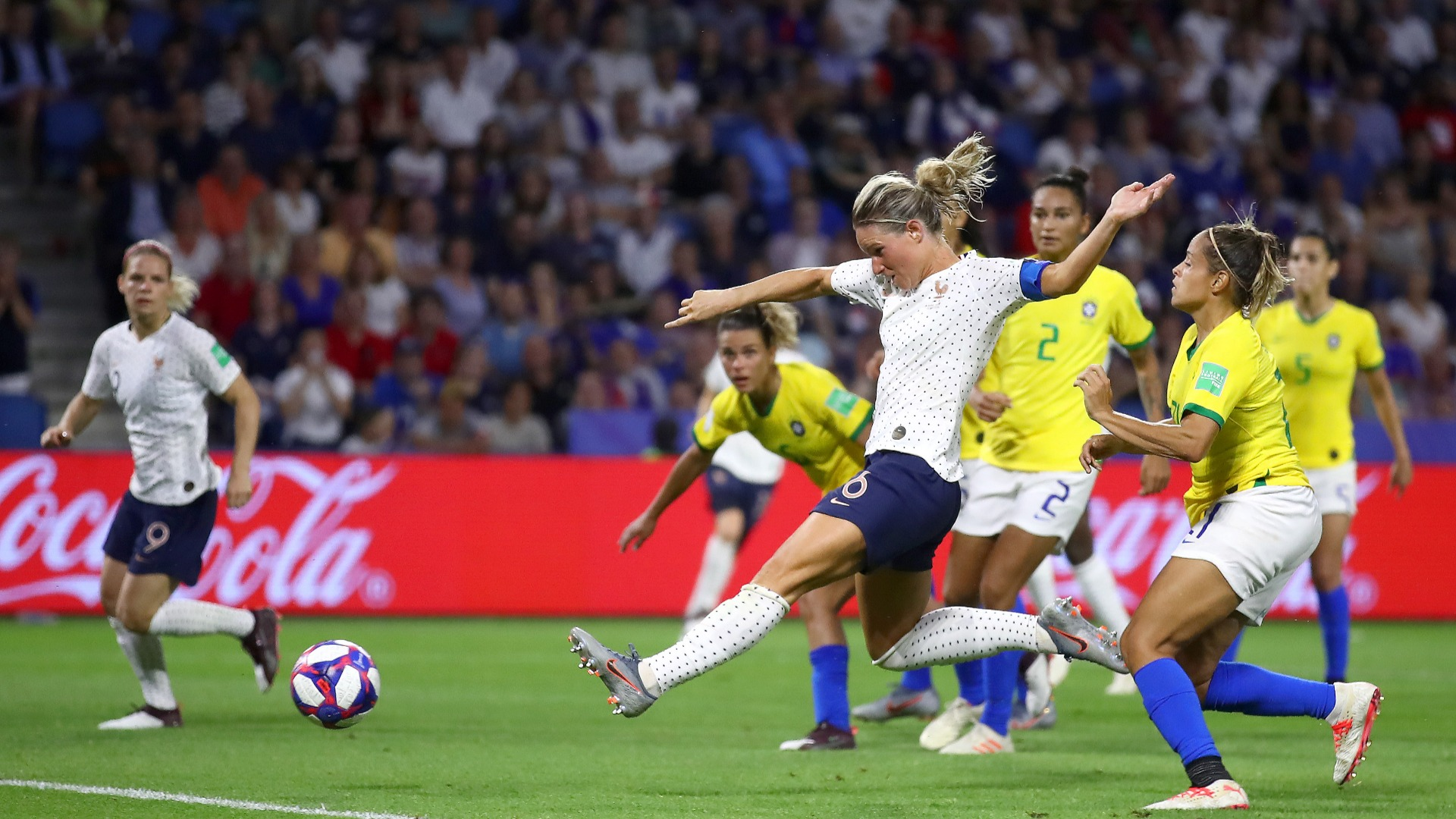 Women's World Cup 2019: Amandine Henry volleys France into last eight, ousts Brazil