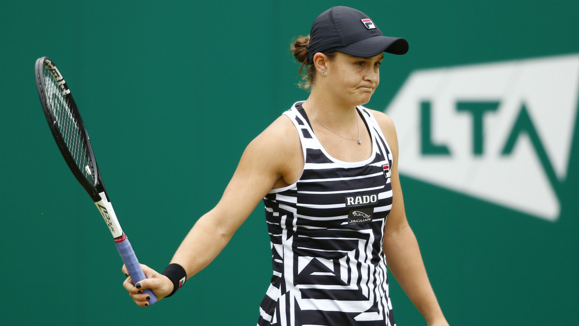 Barty pulls out of Eastbourne with arm injury