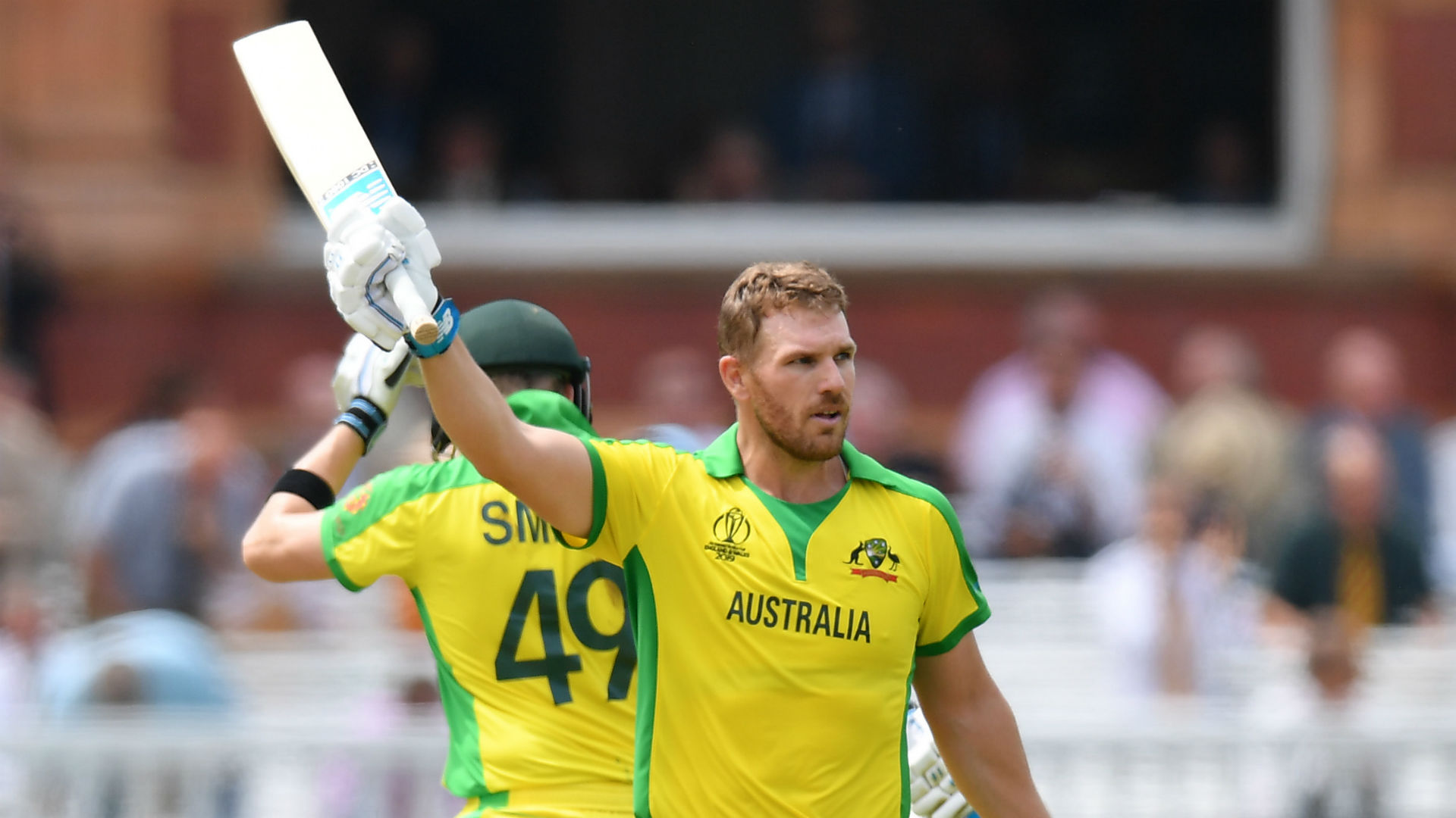 England fight back after Finch century