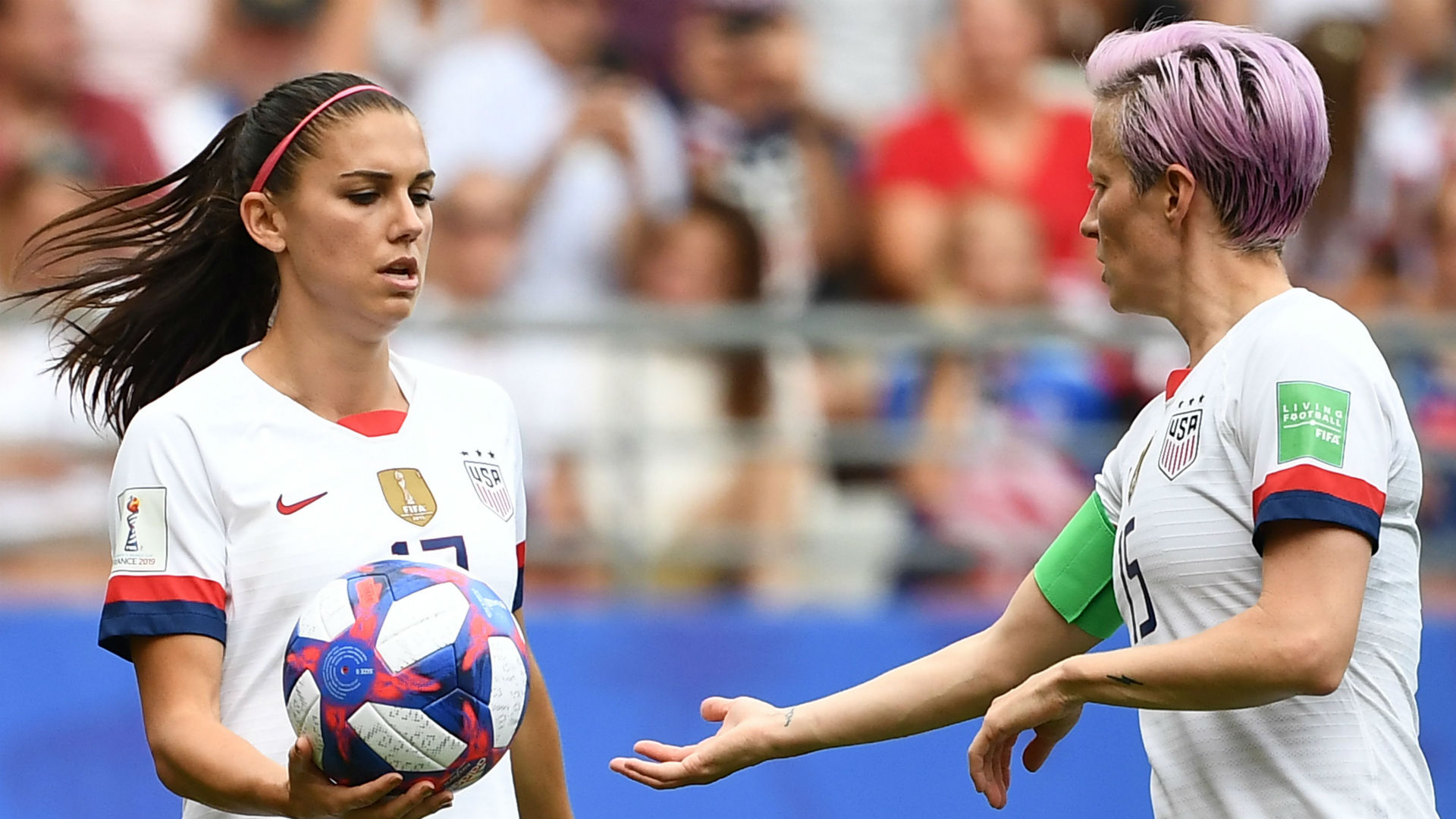 Women's World Cup 2019: USA's Alex Morgan, Megan Rapinoe explain why they switched taking penalty kick