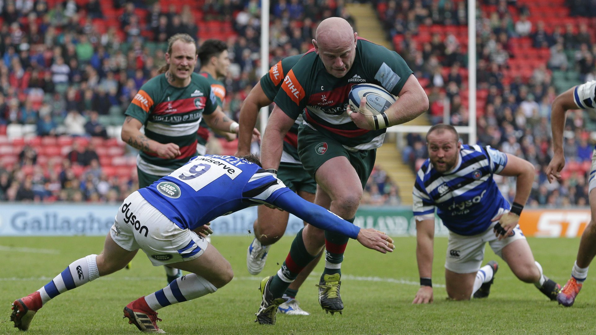 Leicester Tigers put up for sale