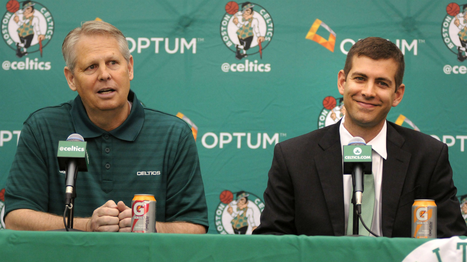 Celtics exploring 'different opportunities' amid uncertainty over Irving and Horford – Ainge