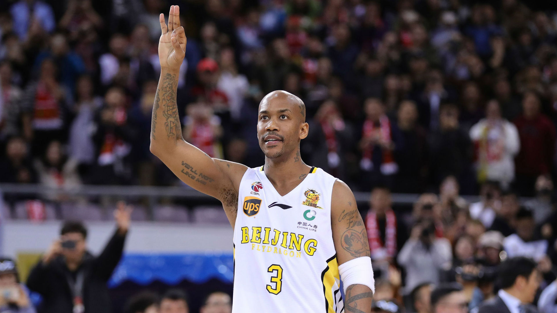 Stephon Marbury becomes coach of Beijing team in CBA