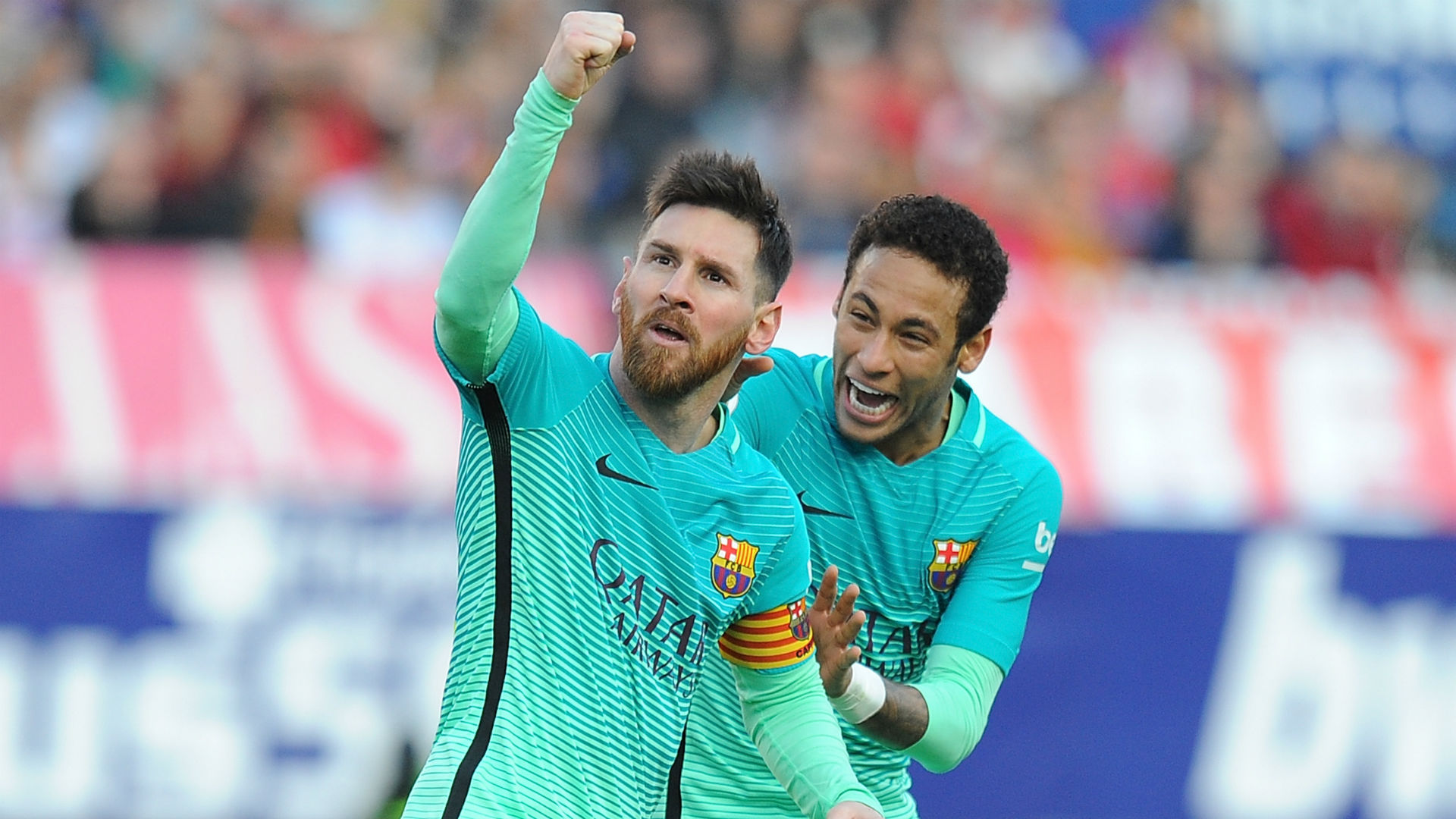 Neymar wishes Messi happy birthday as Barcelona return rumours grow