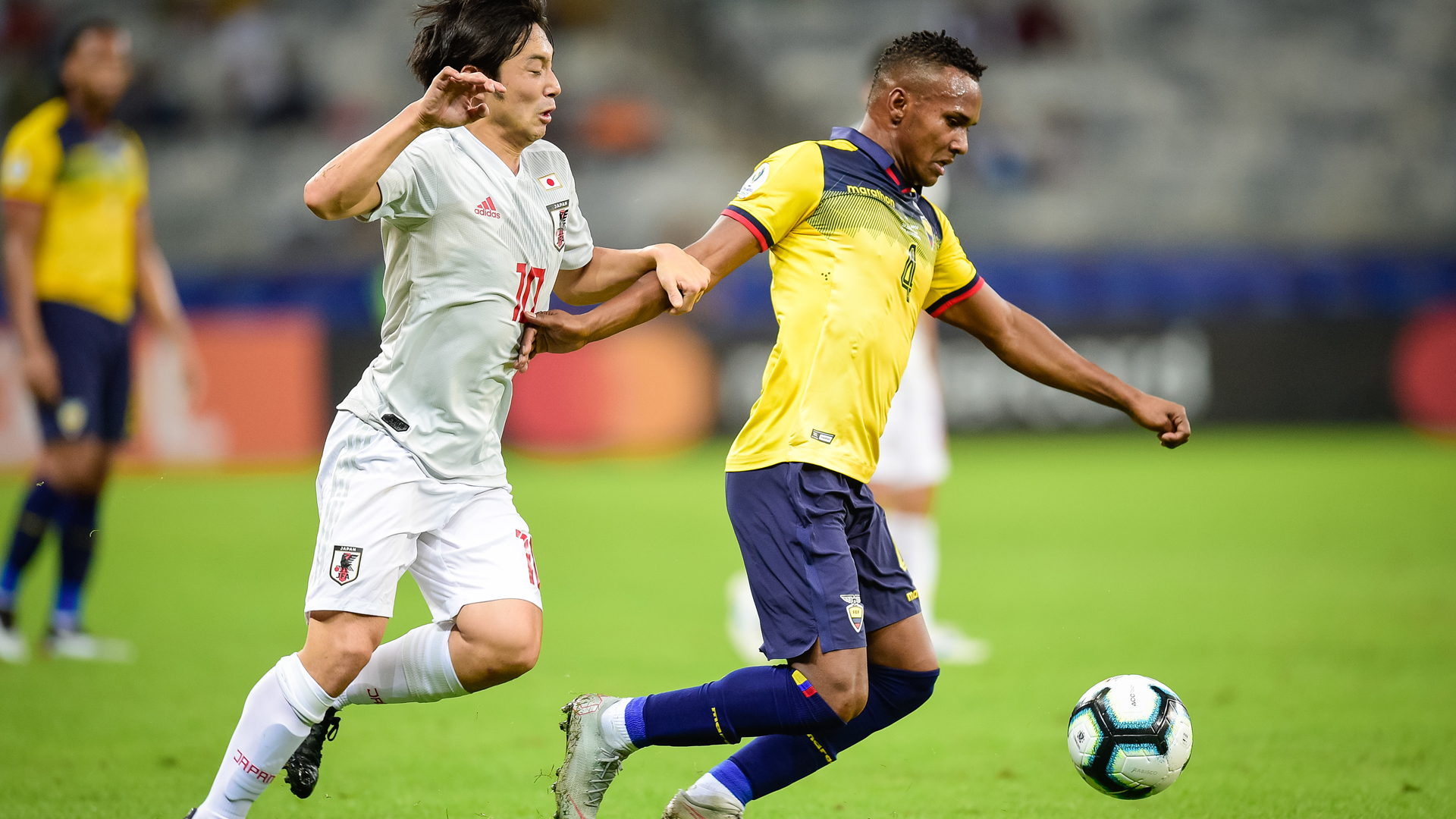 Ecuador 1 Japan 1: Draw sees both nations exit Copa America