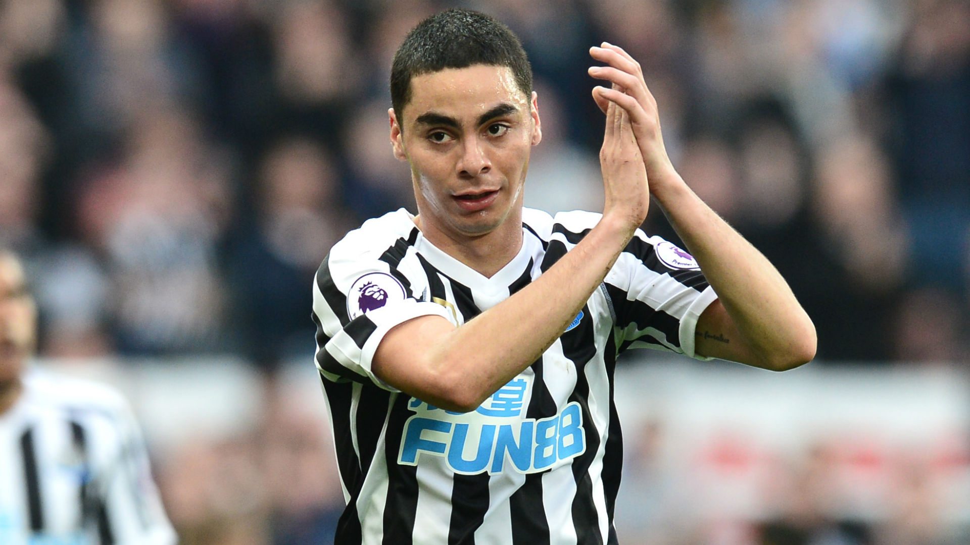 Almiron 'honoured' to be linked to Real Madrid