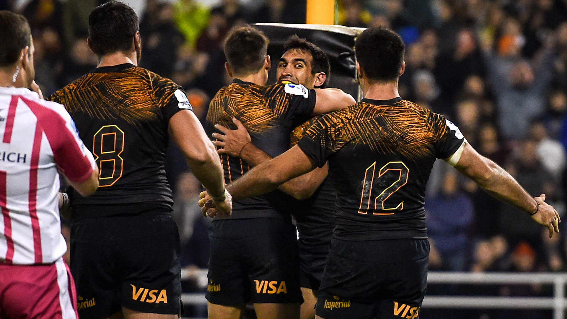 Jaguares crush Brumbies to reach first Super Rugby final