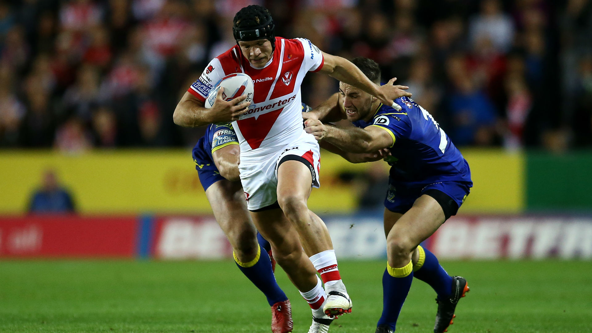 Lomax helps Saints storm further clear, Wigan revival continues