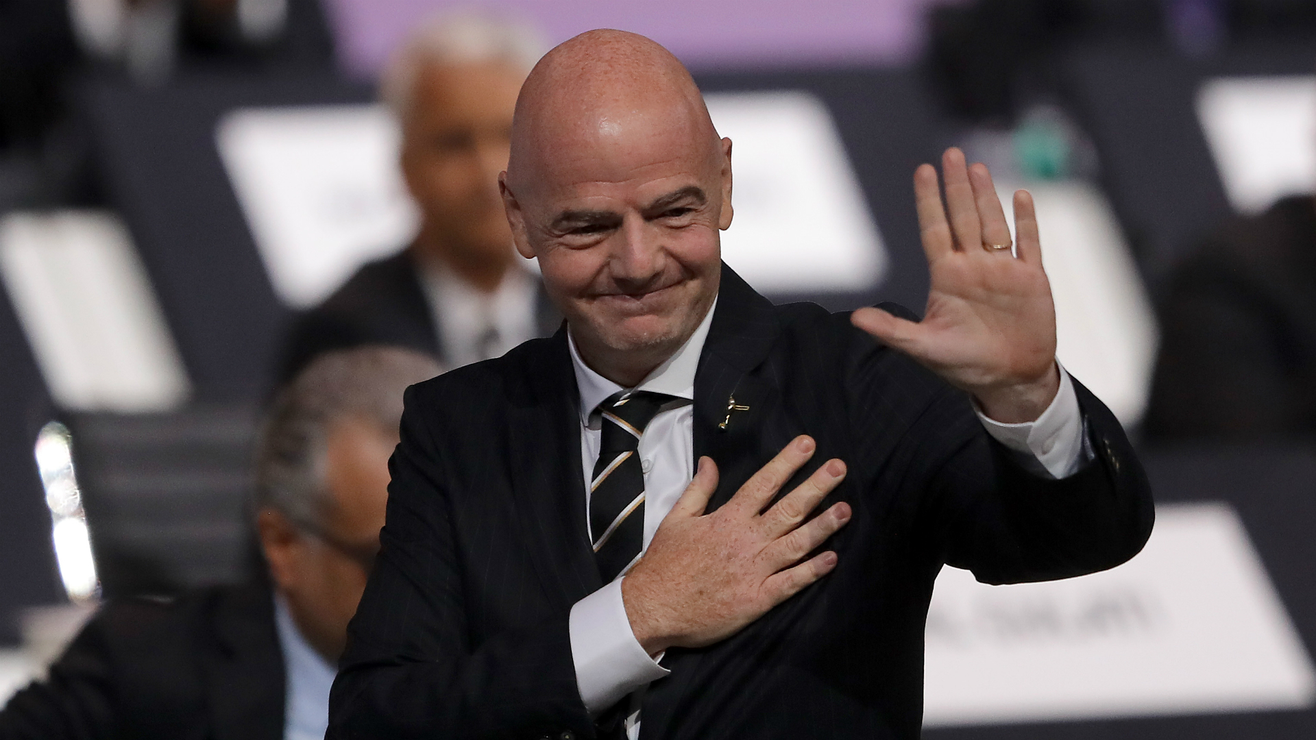 Infantino re-elected as FIFA president for second term