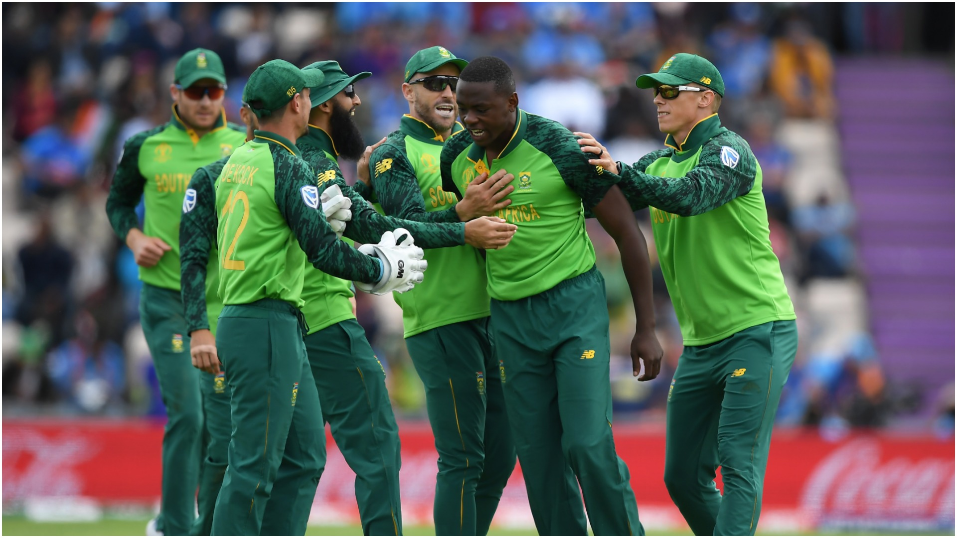 'Champion' Rabada was extremely unlucky - Du Plessis