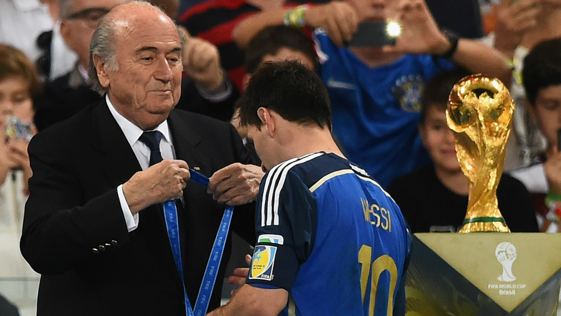 Messi will not give up on World Cup dream after 'terrible' 2014 final defeat