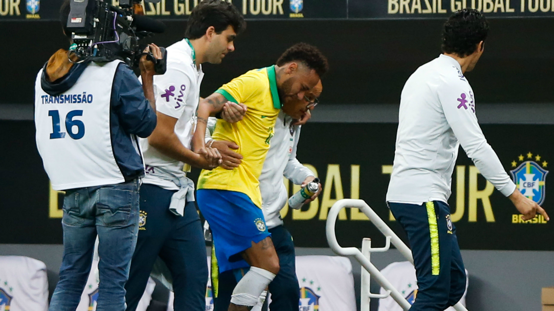 Neymar injury shouldn't be too serious – Tite
