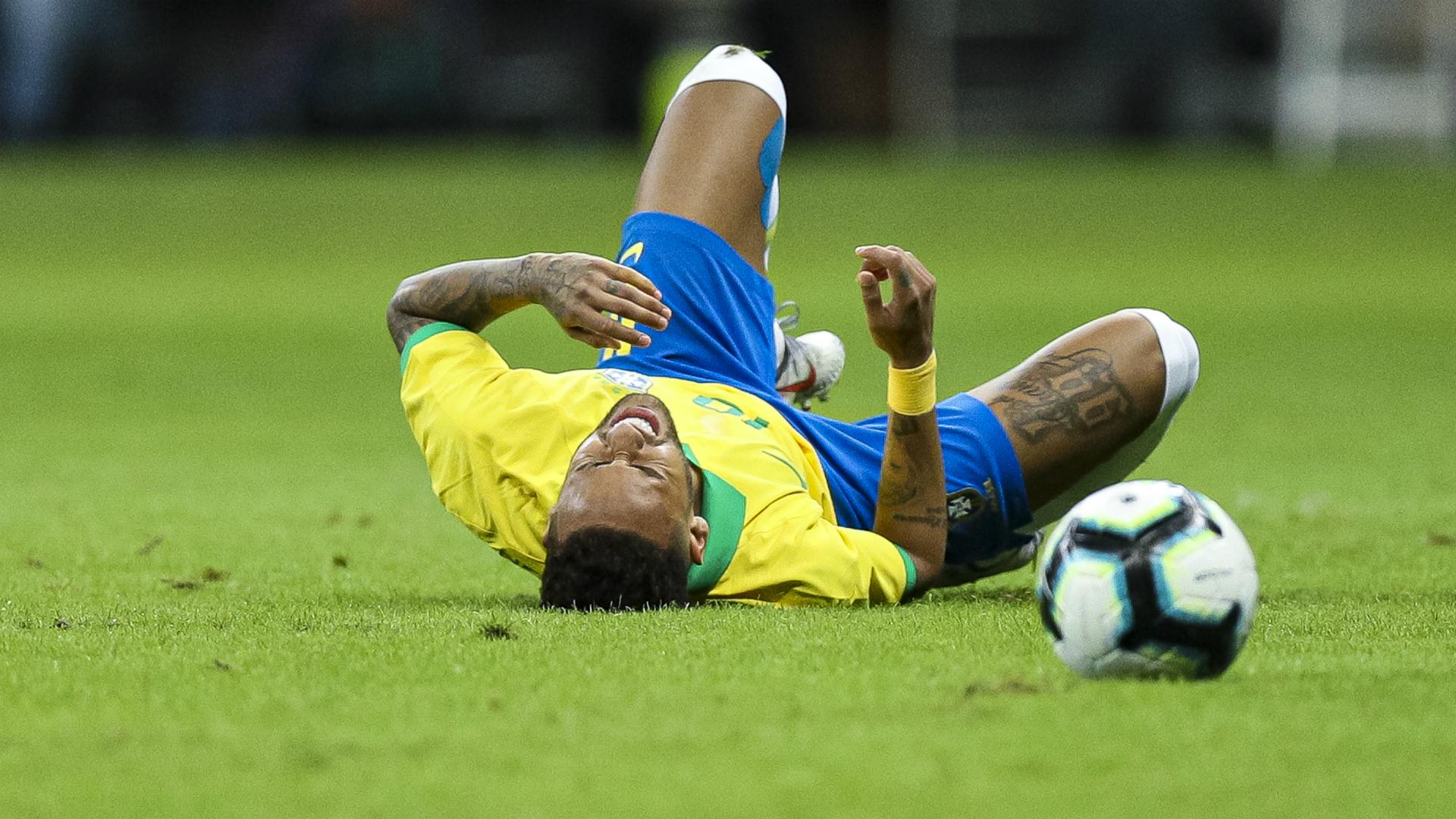 Brazil 2 Qatar 0: Neymar injury overshadows win