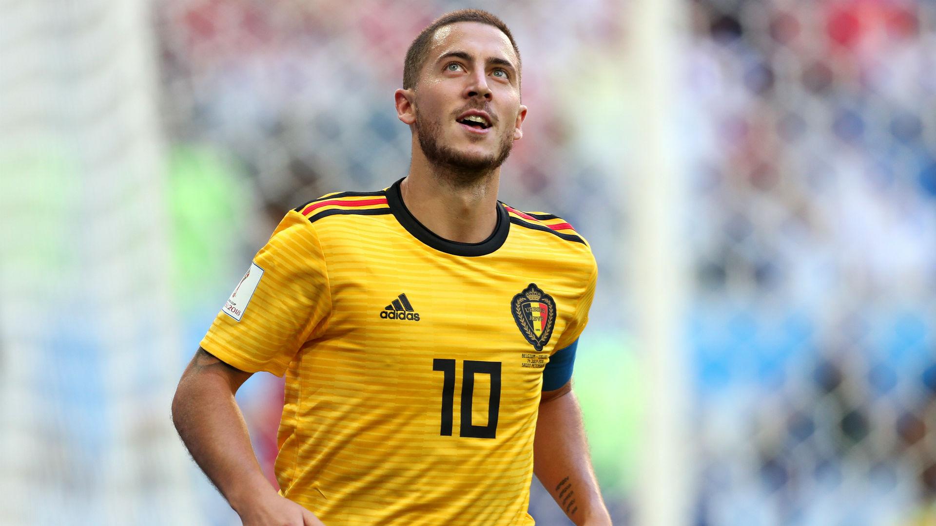 WATCH: Hazard celebrates Madrid move with finishing clinic in training
