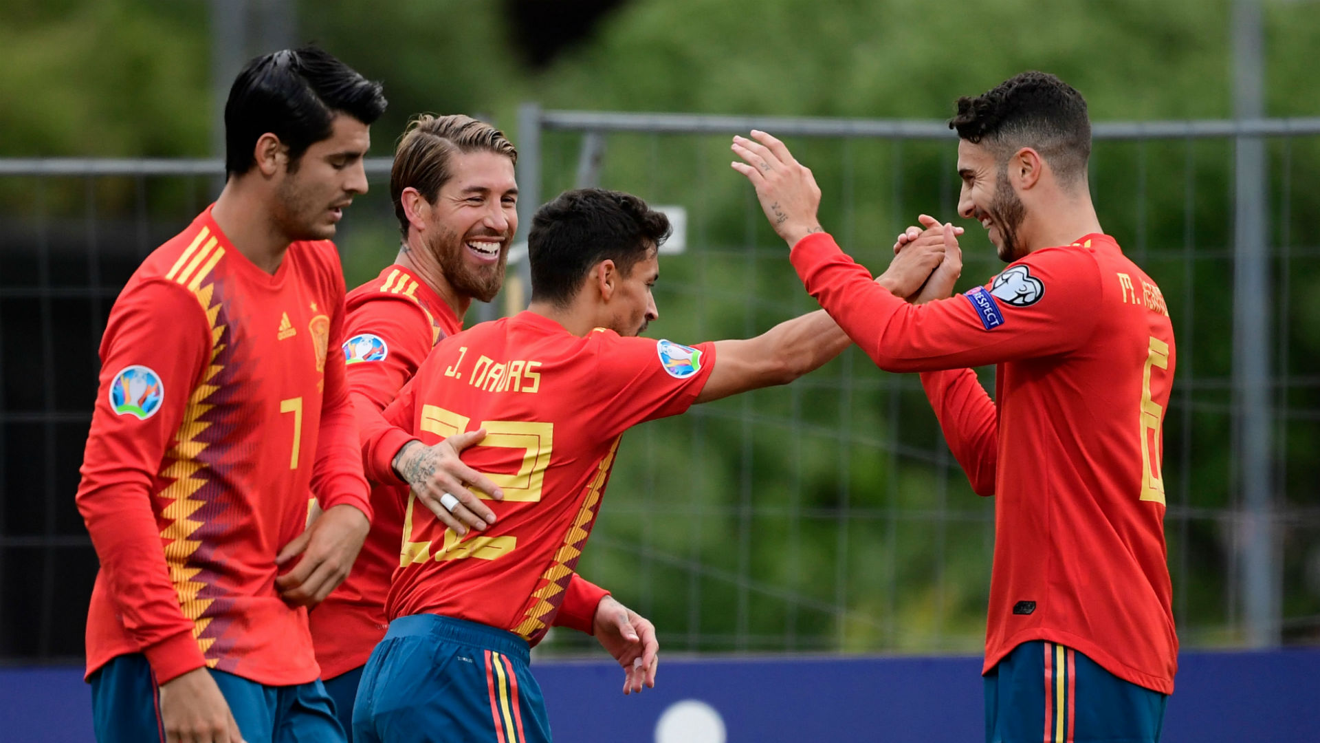 Faroe Islands 1 Spain 4: Ramos continues goalscoring run in comfortable road win