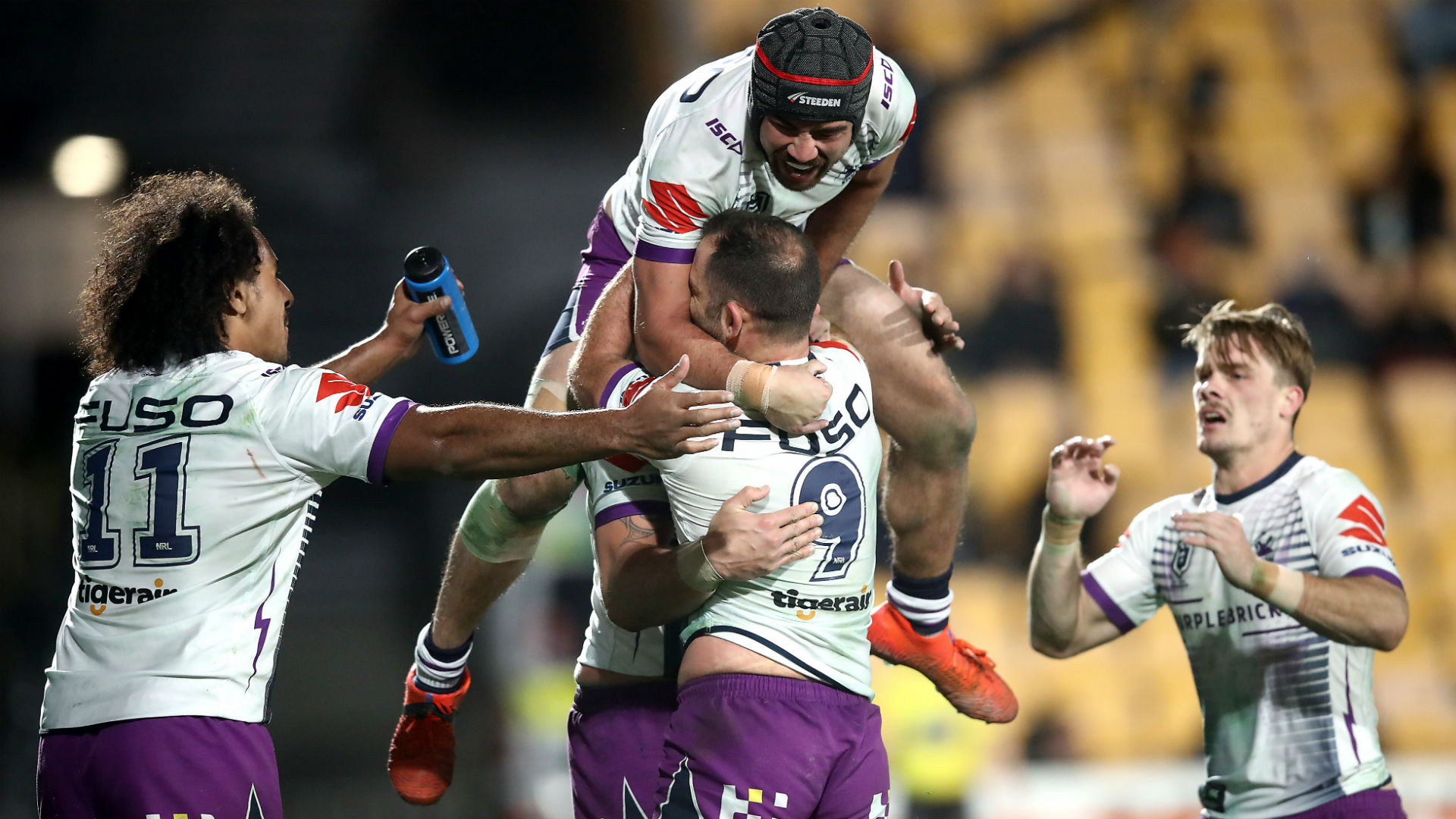 Storm too strong for Warriors as hungry Sharks devour Eels