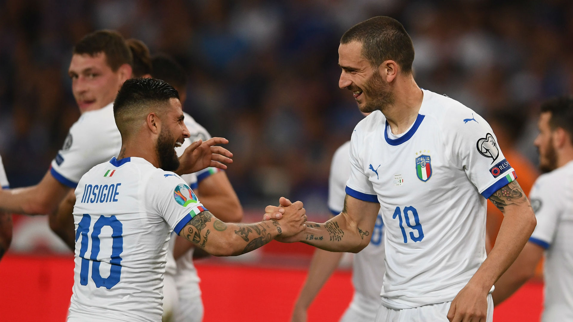 Greece 0 Italy 3: Three and easy for Azzurri
