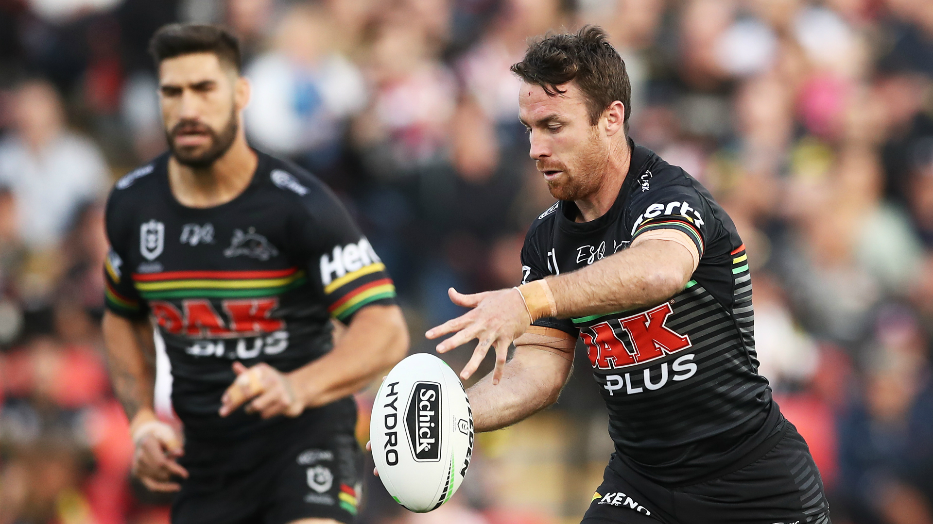 Maloney stakes Origin claims as Panthers upset Roosters