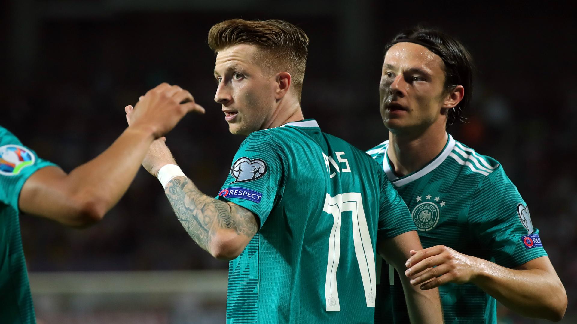 Belarus 0 Germany 2: Sane and Reus see off hosts