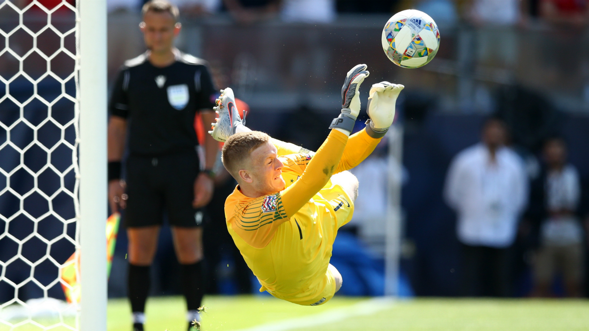 Switzerland 0 England 0 (aet, 5-6 on penalties): Pickford denies Drmic to earn Three Lions third place