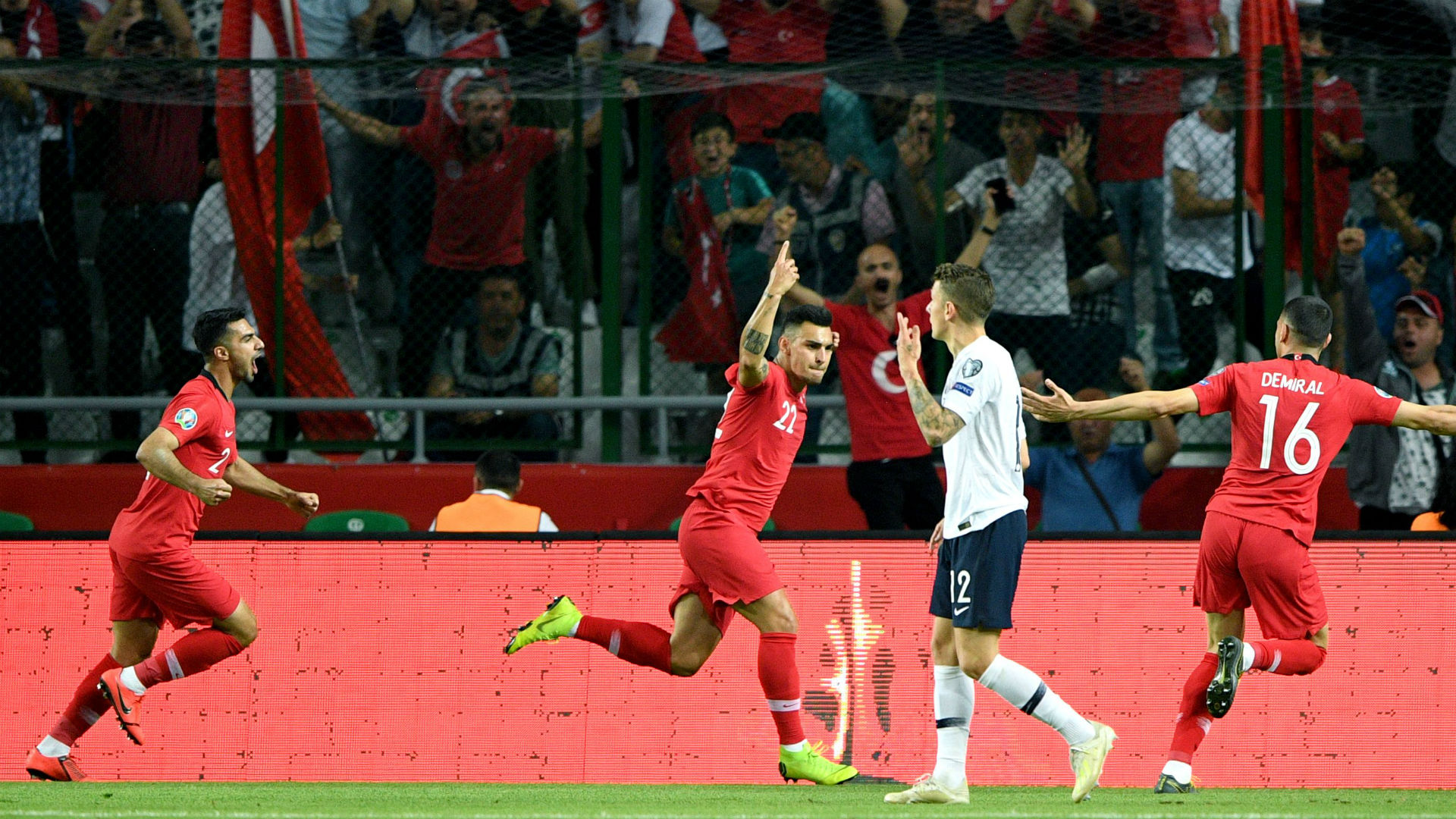 Turkey 2 France 0: World champions shocked in miserable outing