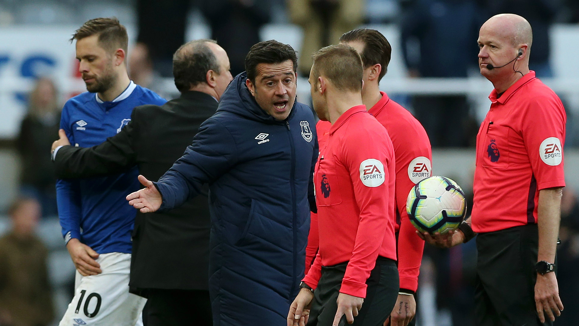 Silva charged with improper conduct after confronting referee